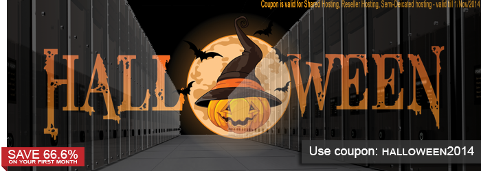 Spooky good Halloween Hosting Promotion