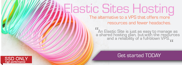 Elastic Sites Banner